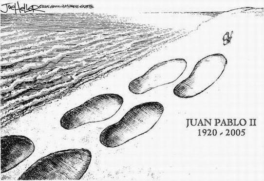 PRIMER ANIVERSARIO DEL FALLECIMIENTO DE JUAN PABLO II